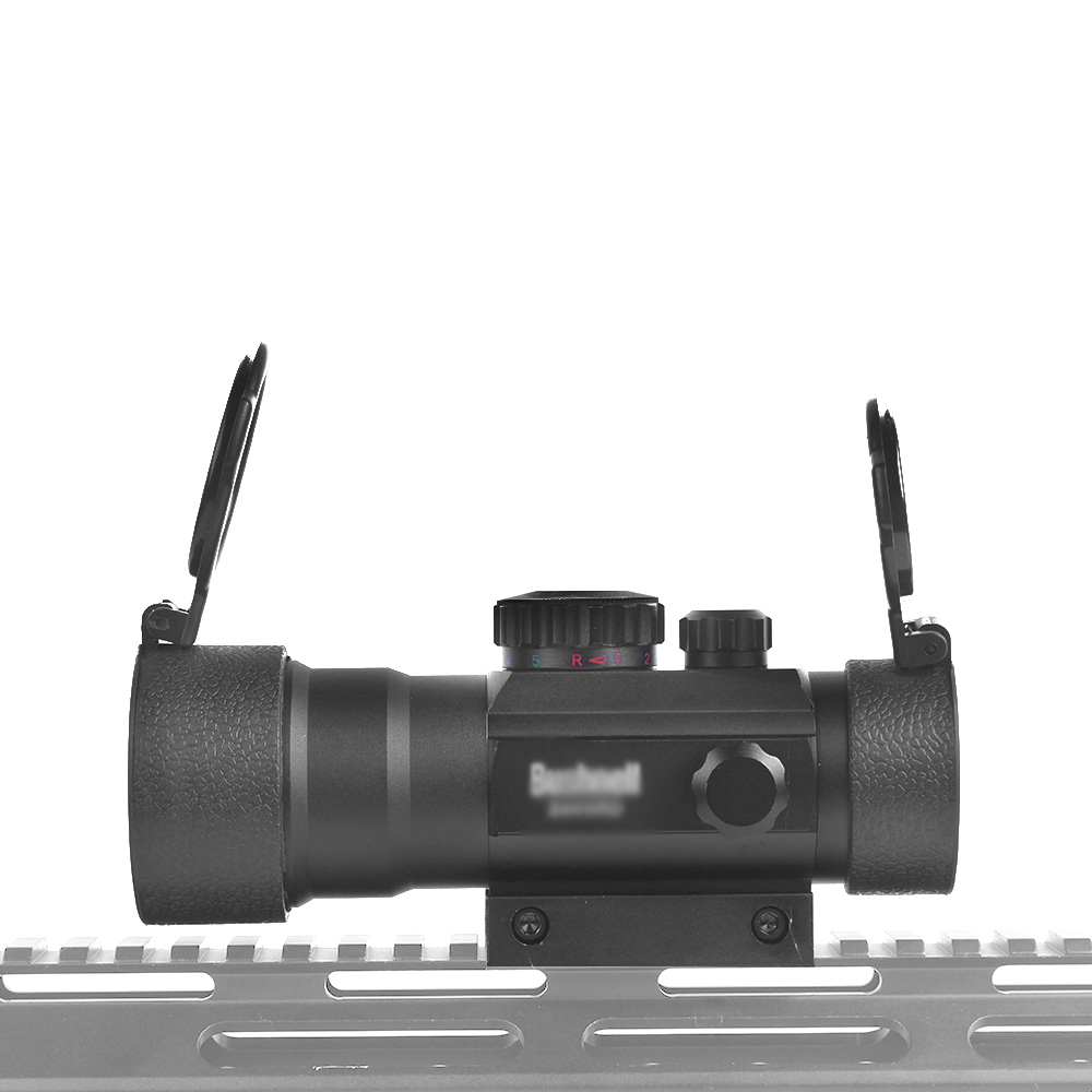 Image 2 - 3x44RD Red Green Dot Sight Scope Optics Riflescope Fit 11/20mm Dovetail Rail For Outdoor Hunting Airsoft Gun Red Dot Sight-in Riflescopes from Sports & Entertainment