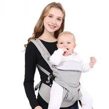 omni aby Carrier Breathable Front Facing Infant Baby Sling Backpack Pouch Wrap Kangaroo For 0-36 Months