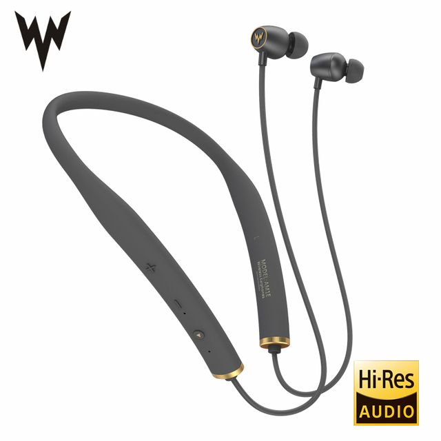 Whizzer AM1E Wireless Bluetooth Earphones HiFi Headphones In-Ear Stereo Earbuds Soft Material Design With Mic U-shape neckband