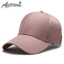 AETRENDS  2018 Verão rosa chapéu mulheres rabo de cavalo tênis chapéus  mens bonés de beisebol osso caminhoneiro equipado cap hi. d794718fd6a
