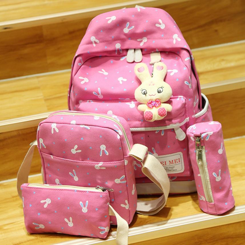 Women Backpacks Girls Bag Set female Mochilas feminina School Bags Travel Shoulder Teenage Student Rucksack Bolsa