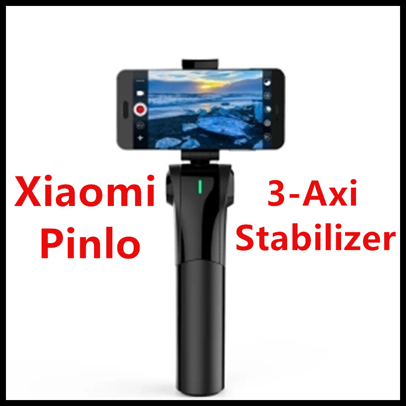 2017 New Xiaomi Pinlo Pinluo Smart 3-Axis Handheld Smartphone Sports Camera Gimbal Stabilizer English App VS Zhiyun Smooth-Q new xiaomi mi consumer camera handheld gimbal 3 axis brushless gimbals stabilizer operation time 16 hours for mijia mini sports