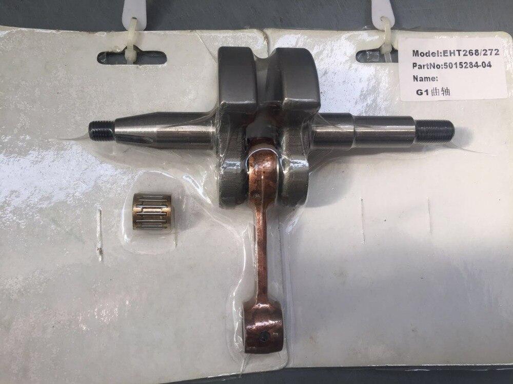 chain saw parts Crankshaft to fit HUSQ 61 66 266 268 272 crank shaft new 4pcs crank crankshaft
