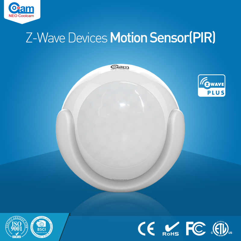 NEO Coolcam NAS-PD01Z Smart Home Z-Wave Plus PIR Motion Sensor Compatible with Z-wave 300 series and 500 series Home Automation