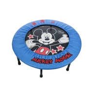 96cm PVC IRON Portable Foldable Safe Trampoline with Padded for Children Kids Trampoline