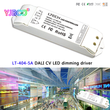 LTECH  LT-404-5A DALI Led Dimming Driver,DC5-24V;5A*4CH Max 20A output;DALI/Push button signal input for single color led strip