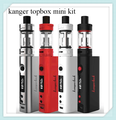Kanger original topbox mini kit versión mejorada del diseño popular subox mini starter kit top-llenado