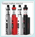 Kanger original topbox mini kit versión mejorada del diseño popular subox mini starter kit top-llenado