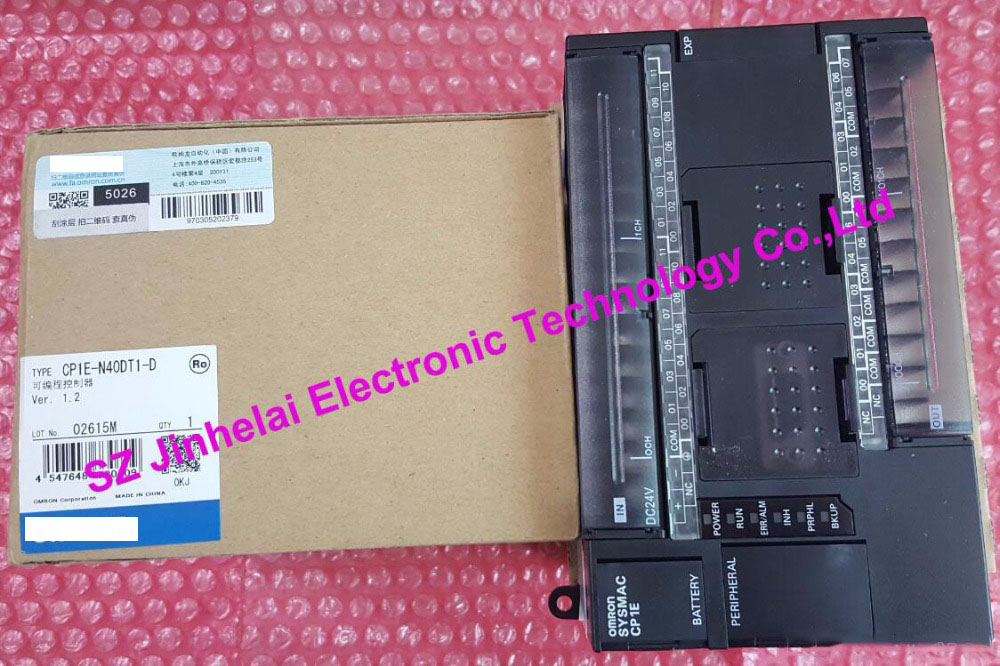 CP1E N40DT1 D New and original PLC CONTROLLER