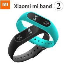 Xiaomi original miband2 xaomi banda 2 del ritmo cardíaco del monitor cardiaco mi banda 2 mi ajuste aptitud rastreador xiomi banda inteligente pulsera