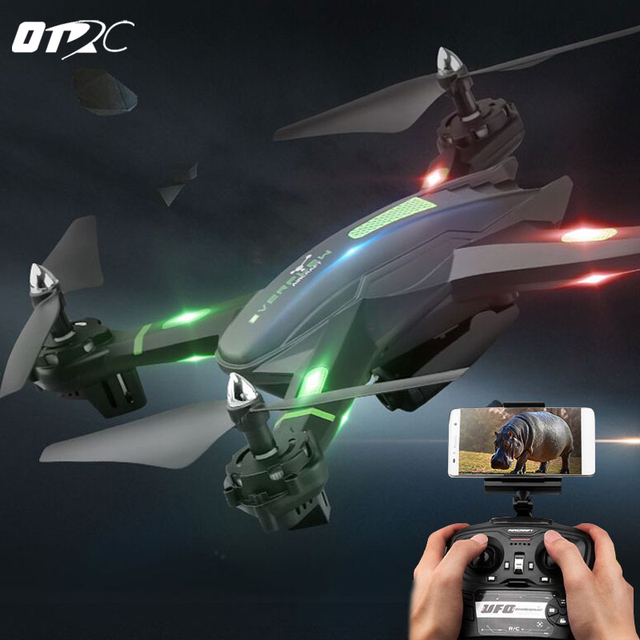 OTRC Drone RC Drone S5 RC Helicopter Drone Quadcopter 2.4GHz 4CH 6 Axis 2MP HD Camera RTF Remote Control Professional Dron Toys