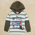 gray striped sweatshirts fashion boys hoodies children wear jacket baby clothes new year sports suits baby kids cotton clothing
