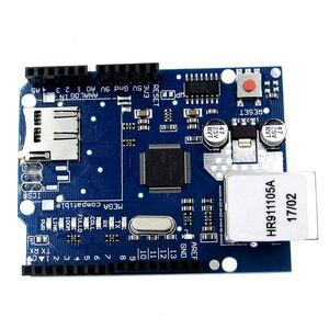 Image 2 - 10 יחידות חומת מגן W5100 R3 UNO מגה 2560 1280 328 UNR R3 W5100 פיתוח לוח