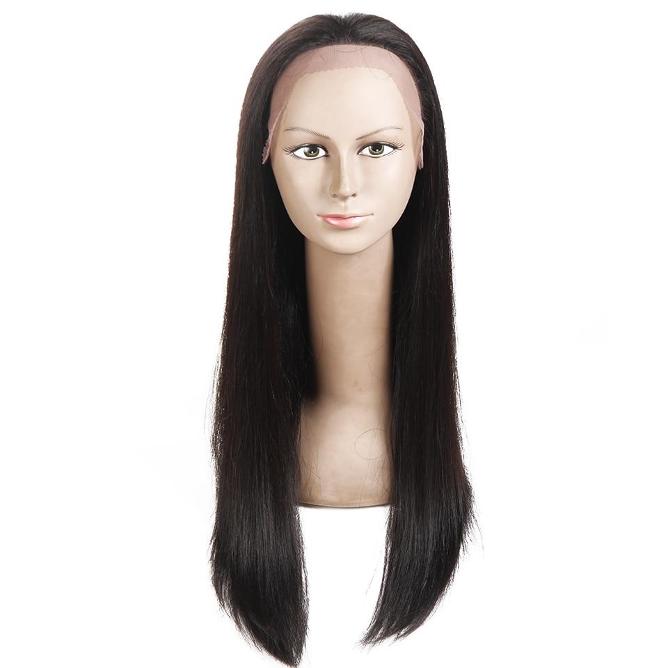 Sleek Hair Full Lace Human Hair Wigs For Black Women 22 Inch Brazilian Straight Hair Wig Free Shipping (8)
