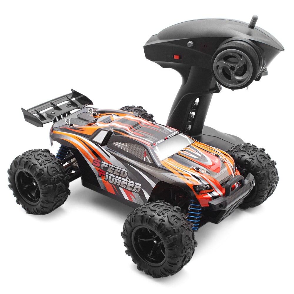 1:18 voiture de course tout-terrain RC 2.4 GHz télécommande sans fil 40 km/H 4WD RC résistant à l'usure TPR pneus Servo de direction de voiture RC