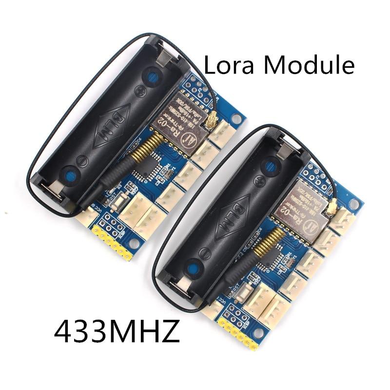 2 шт./лот 433 мГц Lora радио узел V1.0 SX1278 Рола 433 мГц радио модуль ATmega328P Беспроводной DIY Kit для Arduino pro мини