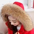 Реального Ракун Меховой Шарф Женщин 100% Натуральный Енот Меховой Воротник Зимой теплый Меховой Воротник Шарфы Дизайн Для Леди Длинные 70 см Ширина 13 см