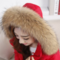 Real Raccoon Fur Scarf Women 100% Natural Raccoon Fur Collar Winter Warm Fur Collar Scarves Design For Lady Long 70cm Width 13cm