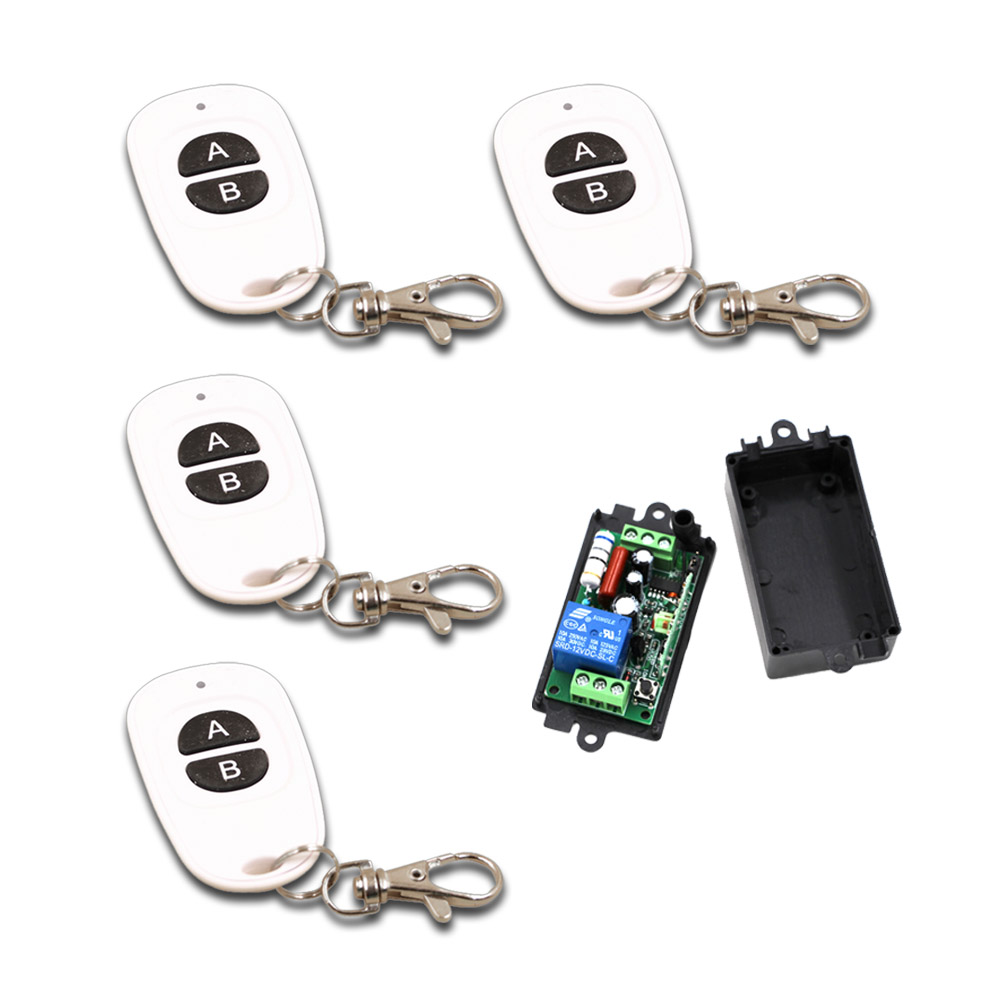 все цены на 2017 High Quality New 110V 220V 1 Channel Wireless Relay Remote Control Switch 315/433MHz Waterproof Remote Control Wholesale онлайн