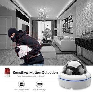 Image 3 - ANBIUX caméra de surveillance extérieure IP Wifi hd 2MP, anti vandalisme, 1080P 720P, P, Vision nocturne, anti vandalisme, port SD et application Yoosee