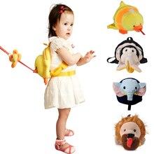 Bebamour Toddler Animal Harness Baby Boy Girl Backpack Monkey Infant Child Outdoor Walking Safety Harness Strap Bag