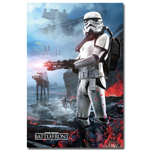 Star Wars Battlefront Game Movie Art Silk Poster Print 13×20 24x36inch Wall Pictures Room Decor 003