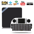 Mini M8S II Amlogic S905X TV Box 4K Android 6.0 64 Bit VP9 Decoding 2GB+8GB Set Top Box 2.4GHz WiFi Player PK X96 V88 A95X