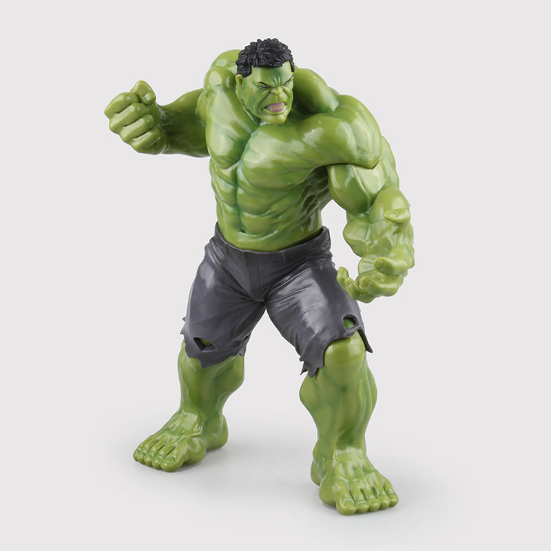 Crazy Toys Avengers Age of Ultron Hulk Brinquedos PVC Action Figure Anime Juguetes Collectible Model Doll Kids Toys 23cm xinduplan marvel shield iron man avengers age of ultron mk45 limited edition human face movable action figure 30cm model 0778