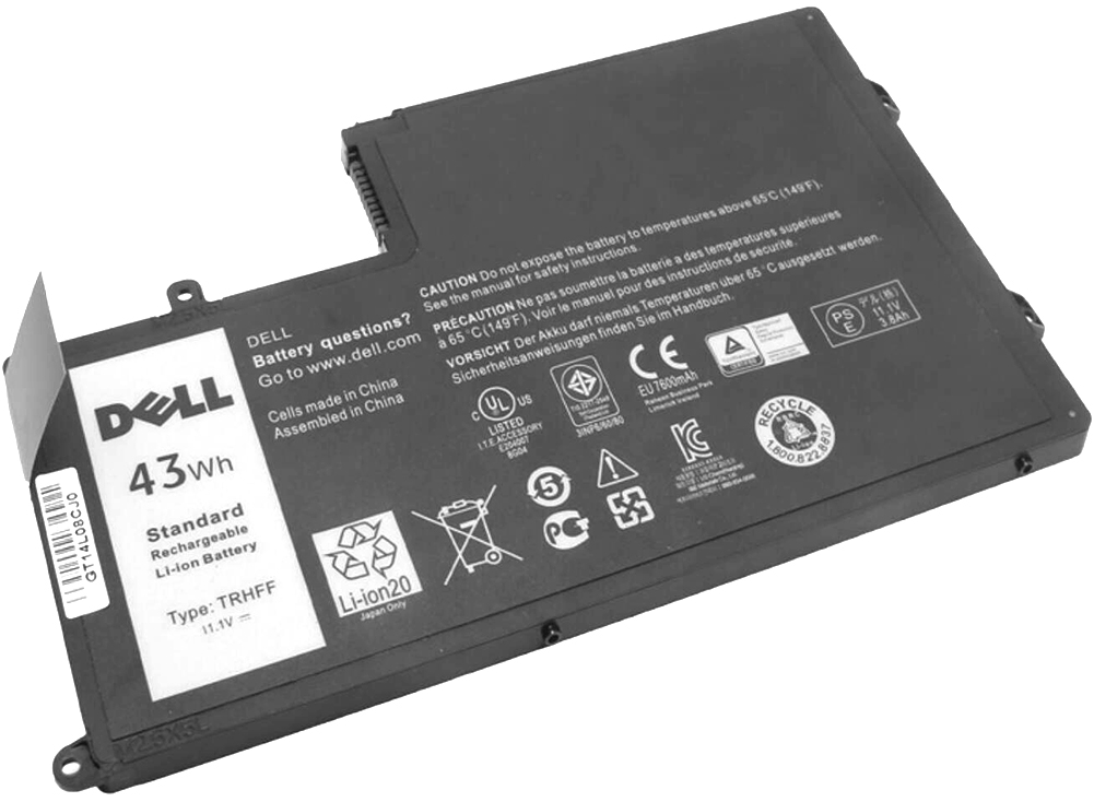 Worldwide delivery dell inspiron 5000 battery in NaBaRa Online