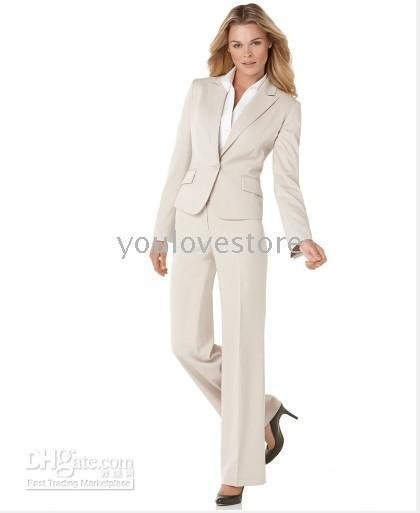online meet latest selection of 2019 US $119.0 |Fashion Women Business Suit Tailored Suit Designer Beige Women  Suit 366-in Pant Suits from Women's Clothing on Aliexpress.com | Alibaba ...
