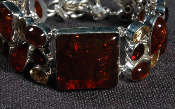 Manik Bracelet on 925 Sterling