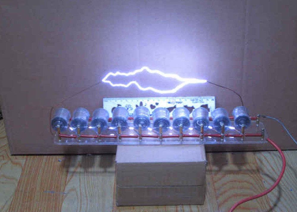 10 grades Marx/tension d'impulsion/générateur haute tension d'impulsion/kit de bricolage bobine Tesla livraison gratuite
