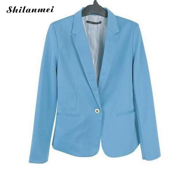 085a6f401f8ca US $16.57 |Aliexpress.com : Buy New 2018 Spring Autumn Blazers Women Suit  Candy Color Jackets Coat Slim Fitness Ladies Blazers Work Wear Jacket Coat  8 ...