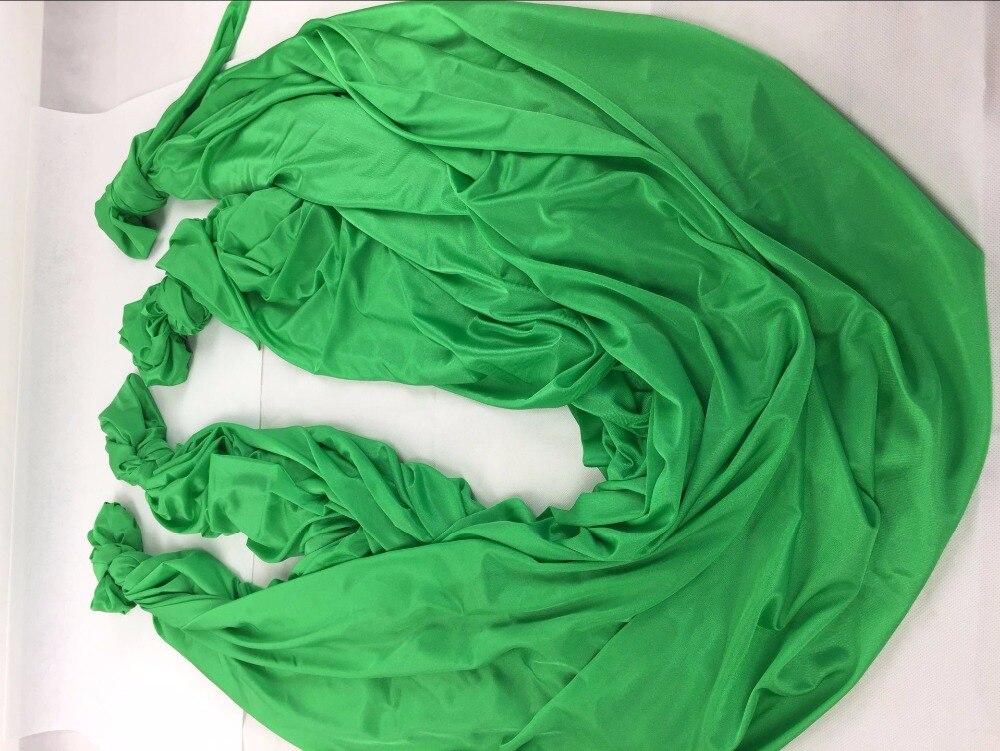 Haute Résistance Décompression Hamac Inversion Trapèze Anti-Gravité Aérienne De Traction De Yoga Gym Balançoire Suspendue Vert