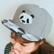 New Fashion Snap back Cap For Men Women Snap back Hat Outdoor Hat Style Baseball Hat Cute Panda Baseball Cap Adjustable недорого