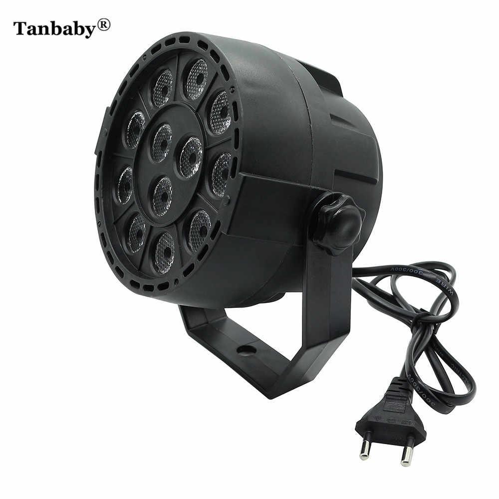 Tanbaby 12 Вт RGBW 12 светодиодов Par свет лазерный DMX 512 дискотечный шар сценический свет лампа эффект волшебвечерние Вечеринка клубный свет проектор для DJ KTV