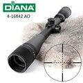 Тактический DIANA 4-16X42 <font><b>AO</b></font> прицел охотничий прицел оптический прицел Охотничья винтовка