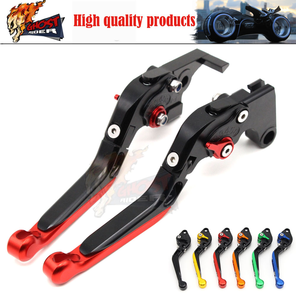 Motorcycle CNC Adjustable Folding Extending Brake Clutch Levers For Honda CBR650F CB650F 2014 2015 CBR 600 F2 F3 F4 CB600 Hornet fx cnc folding extendable motorcycle adjustable brake clutch levers for honda cb599 cb600 hornet f2 f3 f4 f4i cb919 cbr900rr