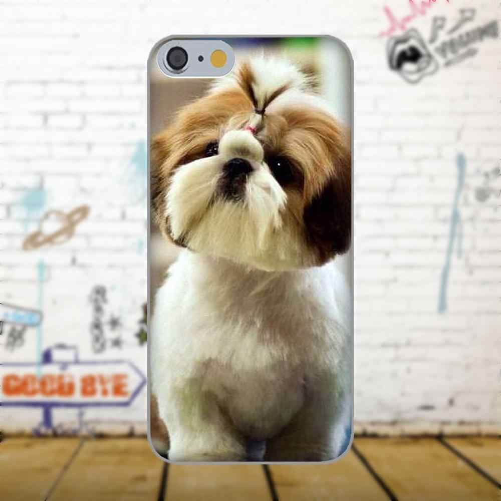 Bixedx Shih Tzu Shitzu Щенячий щенок для Apple IPhone X 4 4s 5 5C SE 6 6 S 7 8 Plus Galaxy большое ядро II Prime Alpha Special