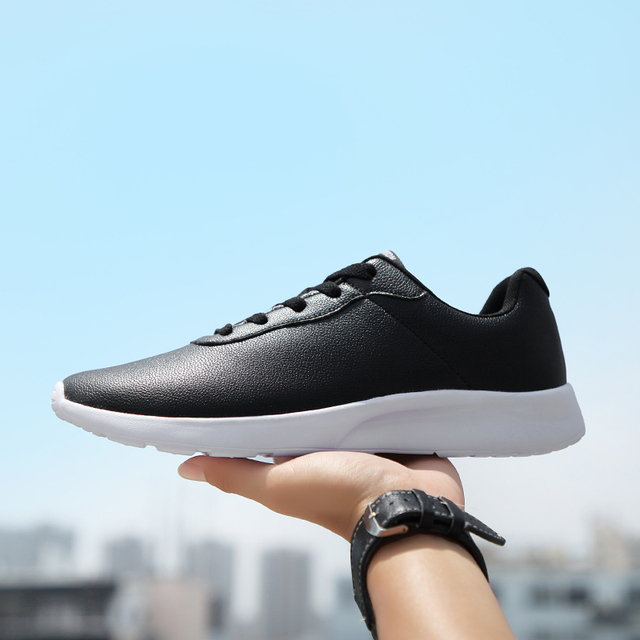 OZERSK Brand 2021 Autumn Big Size 35 47 Pu Leather Men Shoes Casual Classic Sneakers For Male Unisex Comfortable Footwear
