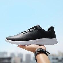 Кроссовки OZERSK мужские из экокожи, повседневная классическая удобная обувь, большие размеры 35 47, осень 2021