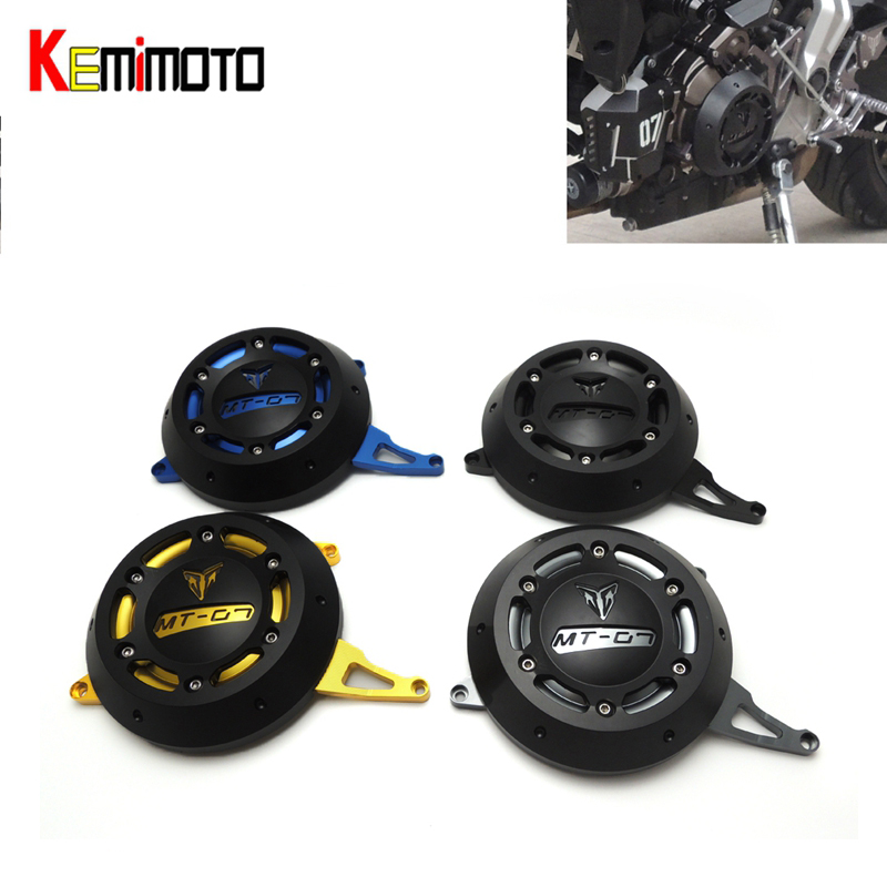 For Yamaha MT 07 MT07 2017 FZ07 Engine Stator Case Cover Protector for Yamaha MT-07 FZ-07 2014 2015 2016 2017 Premium Quality for yamaha fz 07 mt 07 engine stator case cover engine protective cover protector mt07 fz07 2014 2016 blue