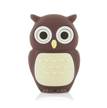 100pcs lot Cartoon owl USB2 0 USB Flash Drive 8GB 16GB 32GB 64GB Pen drive USB