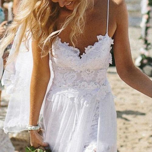 Горячее женское кружевное платье на тонких бретельках, газовое длинное платье макси, вечернее платье