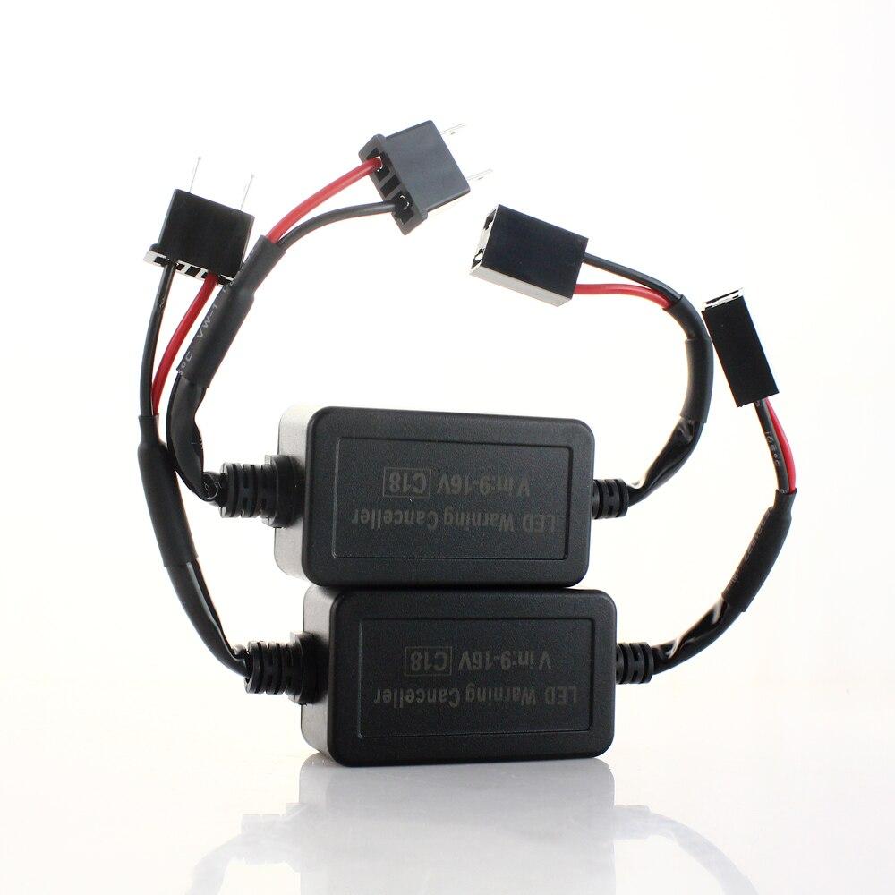 Car Lights Car Light Accessories 10pcs Led Car Warning Canceller Capacitor Error Free Load Resistor Led Canbus Decoder For H1 H3 H4 H7 H8 H9 H11 9012 9005 9006