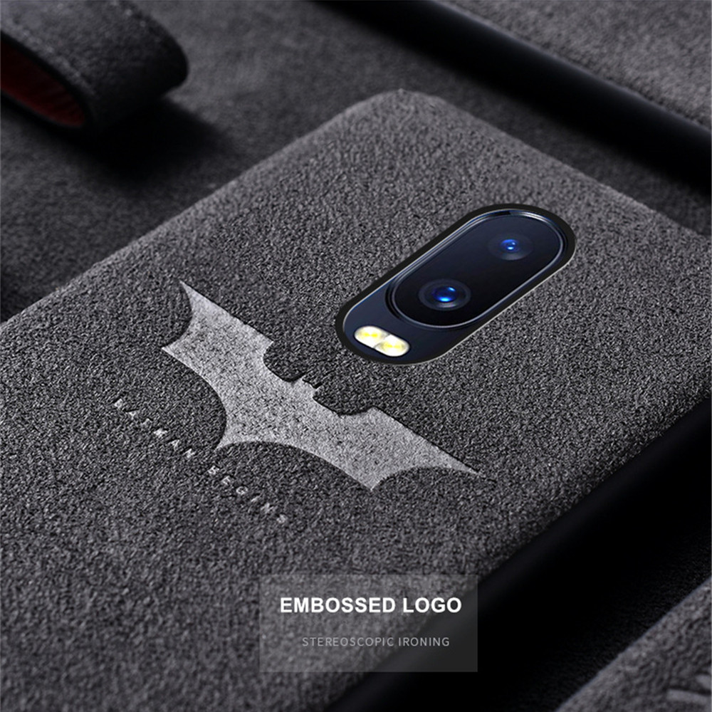 Fashion Luxury Suede Fur Leather Case For OnePlus 5 5T 6 6T 7Pro Soft TPU Back Cover For One Plus 6T 1+ 6 OnePlus 6 7 Coque Case