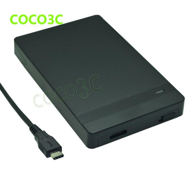 """Ferramenta Livre 2.5 """"SATA HDD SSD Gabinete Para Novo Macbook Nikia 3.1 USB Tipo-C para SATA 3.0 adaptador USB-C versão Externa caso"""