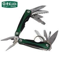 2015 Multi Function Folding Knife Outdoor Survival Mini Tool Plier Small Size Multi Function Combination Folding