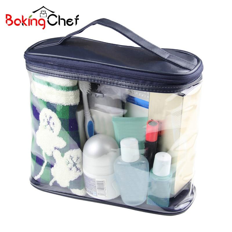 BAKINGCHEF Waterproof Toiletry Storage Organizer Cosmetic Ma