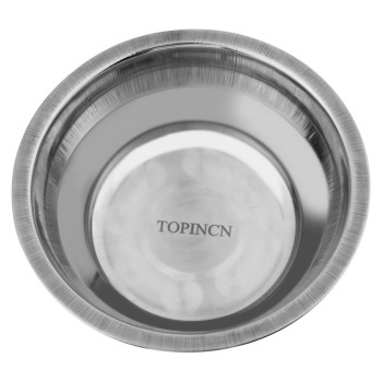 Stainless Steel Double Dog Bowl  4